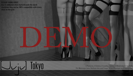 [Juju] Mesh Stockings - Tokyo DEMO