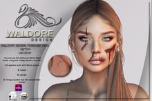 Waldorf Design. Punished Face Tattoo -BENTO-