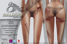 Waldorf Design. Punished Legs Tattoo
