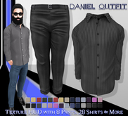 [Syn] Daniel Outfit (Texture HUD, TMP, Slink & Signature, materials enabled)
