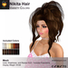 A&A Nikita Hair Variety Colors Pack. Womens mesh half updo with extensions
