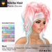 A&A Nikita Hair Pastel Colors Pack. Womens mesh half updo with extensions