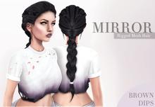 MIRROR - Lara Hair -BrownDIPS Pack-