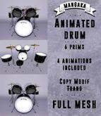 .::Manga::. Drum Animated