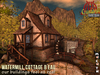 Watermill Cottage BEau CopyMod traditional French watermill in a rural setting