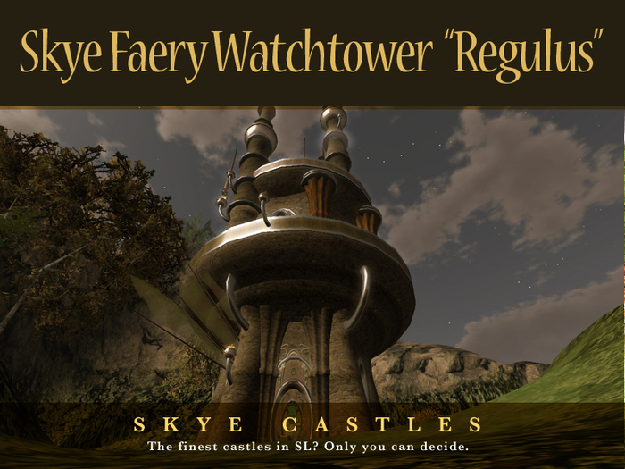 Skye Faery Castle Watchtower Regulus - Part of the Skye Faery Range