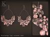 (Kunglers) Tamara earrings - Rose