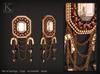 (Kunglers) Rita earrings - Crystal