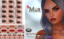 Mue ~ Cali Skin Applier for Akeruka Mesh Head Demo