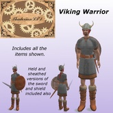 Thadovian LTD Viking Warrior Costume
