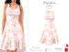 Pacifica Fashion - Marylin Flowers Dress (Belleza, Maitreya, Slink)