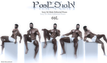 *PosESioN* Sexy Sit Male Editorial Set