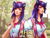 Ahri 2017 - Neko - Fan art inspired by League of Legends!