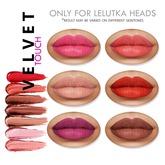 """Insol: Lelutka lipstick """"Velvet touch"""""""