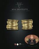 Converge -- Mila Bracelets - Gold
