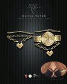 Converge -- Olivia Watch - Gold