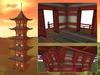 Japanese pagoda mesh 8