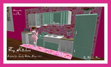 Toy Kitchen (Zooby  stage 33+)
