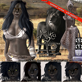 ND/MD Malkia - black Lioness Avatar - female Neko Avatar