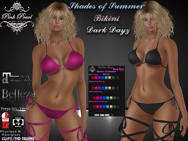 [PPD] Shades of Summer Bikini - Dark Dayz