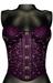 DE Designs - Haley Corset - Purple Silver