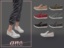 A N E Shoes - Rand Sneakers Slip-on FATPACK