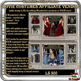 Wunderlich's Historical Costumes Affiliate Vendor-60%!