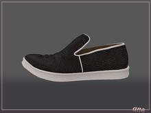 A N E Shoes - Rand Sneakers Slip-on ONYX