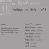 G-Steel Animation BOX 1 [ULTIMATE Pack]