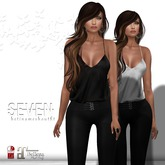 SEVEN - BETINA mesh OUTFIT (black)