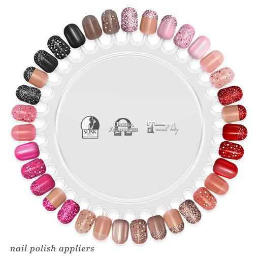 """alaskametro<3 """"Classic/Shimmer' Slink/Omega/Maitreya nail polish applier"""