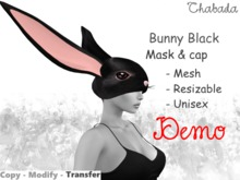 Chabada - Bunny mask, Black [DEMO]