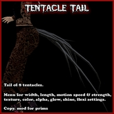Tentacle Tail v2 with appearance and behavior menus (tentacles)