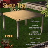 Simple Tents - Free