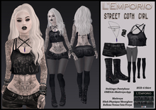L'Emporio ::*Street Goth Girl*:: Outfit