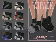 A N E Shoes - KohGenGo Wrap Booties (female version) FATPACK