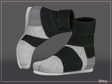 A N E Shoes - KohGenGo Wrap Booties (female ver) Cotton