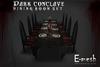 E-mesh: Dark Conclave Set (dark wood and Iron)