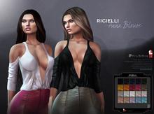 Ricielli - Anna Blouse / 20 Colors