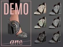 A N E Shoes - Whimsical Heels DEMO
