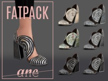 A N E Shoes - Whimsical Heels FATPACK