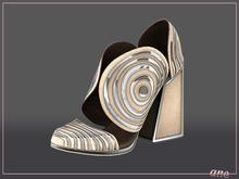 A N E Shoes - Whimsical Heels Cream