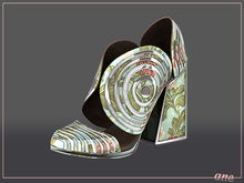 A N E Shoes - Whimsical Heels Floral