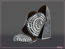 A N E Shoes - Whimsical Heels Maze