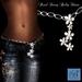Alyssa Bijoux - Pearl Daisy Belly Chain