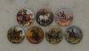 HHVET Victoriana - Sidesaddle Ladies Wall Plates