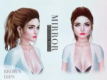 MIRROR - Lisa Hair -BrownDIPS Pack-