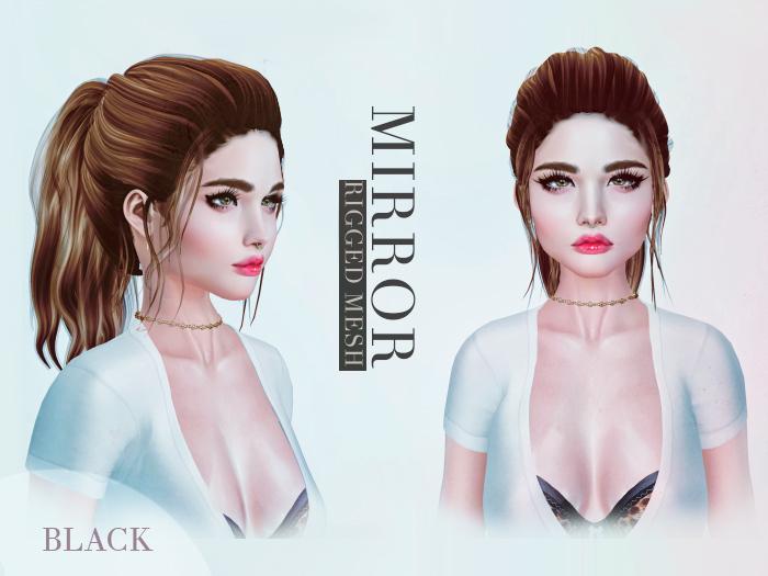 MIRROR - Lisa Hair -Black Pack-