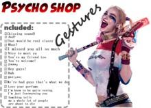 Harley Quinn Gestures