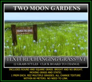 TMG - TEXTURE CHANGING GRASS - 12 STYLES*
